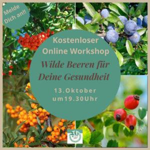 Online Workshop wilde Beeren für deine Gesundheit