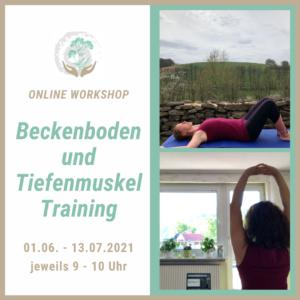 Beckenboden und Tiefenmuskel Training