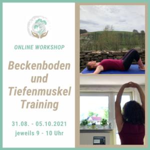 Onlinekurs Beckenboden