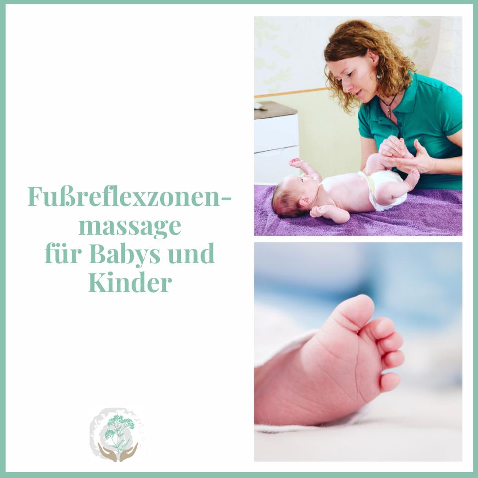 Fussreflexzonen Baby und Kinder